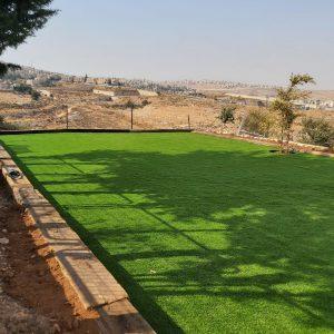 התקנת דשא סיננטטי בירושלים